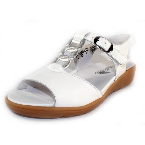 Waldlaufer Women's 418002 In White Leather