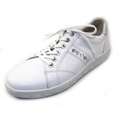 Waldlaufer Women's Maeve 921004 In White Leather