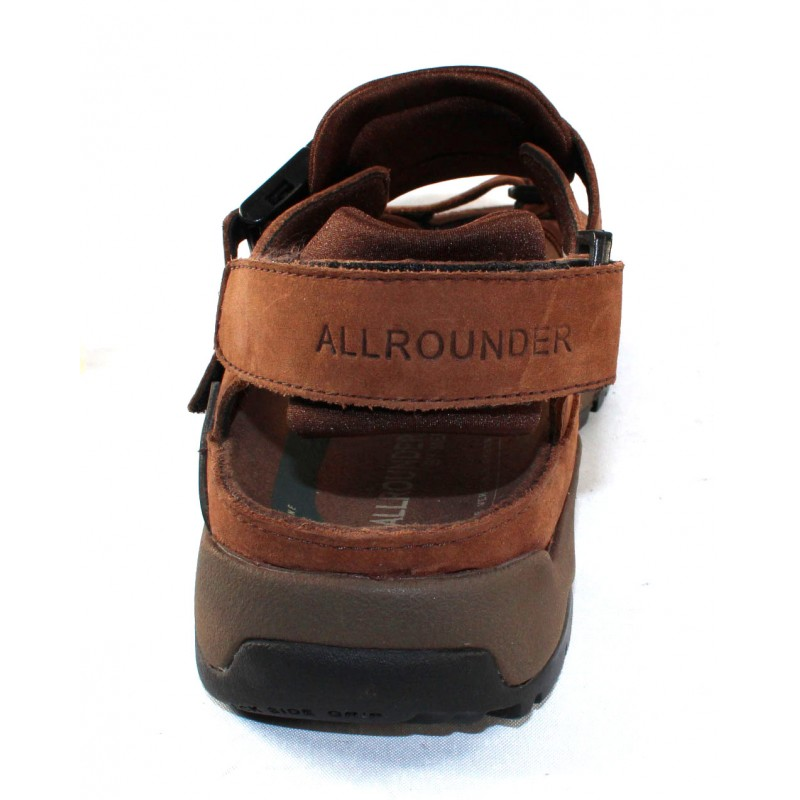 7d42372d2c9 Allrounder By Mephisto Men s Alligator In Brown Waxy Leather 2