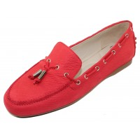 Amalfi By Rangoni Women's Demetrio In Red Bantus Embossed Suede