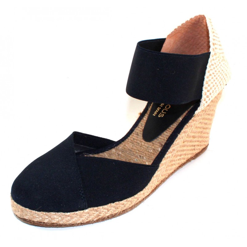 b1a5072dd92 Andre Assous Women's Anouka Mid In Navy Blue Elastic