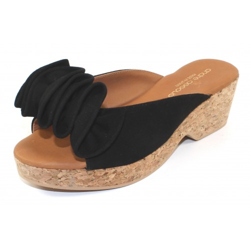 Andre Assous Women's Basha In Black Suede