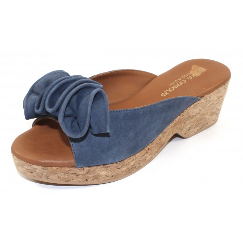 Andre Assous Women's Basha In Jeans Suede