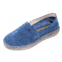 Andre Assous Women's Caroline In Blue Suede