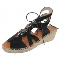 Andre Assous Women's Deanna In Black Suede