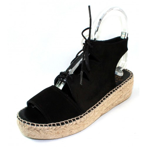 Andre Assous Women's Elika In Black Suede