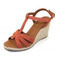 Andre Assous Women's Madina In Rust Suede