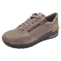 Ara Women's Nevada In Taiga Velour Suede/Smooth Leather