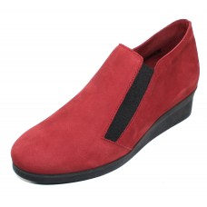 Arche Women's Aberal In Opera Nubuck - Red