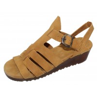 Arche Women's Balzam In Camel Timber Leather