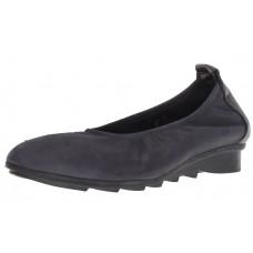 Arche Women's Bibara In Grey Woody Leather/Basalt Shade Leather - Grey/Gunmetal