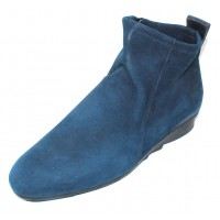 Arche Women's Bibiki In Malo Hunter Nubuck/Nuit Shade Leather - True Blue/Deep Navy