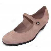 Arche Women's Cynolo In Blush Nubuck - Pastel Pink