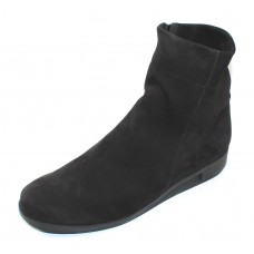 Arche Women's Daykam In Noir Nubuck - Black