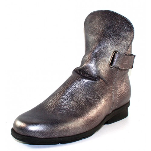 Arche Women's Delzi In Silver Shade Pearlized Leather
