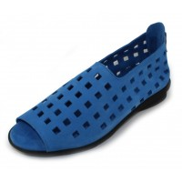Arche Women's Drick In Bora Nubuck - Bright Blue
