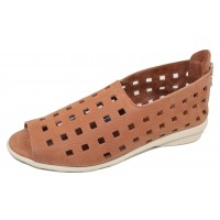 Arche Women's Drick In Muse Timber Leather - Cognac