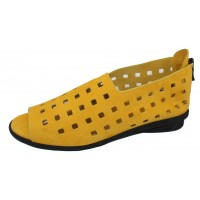 Arche Women's Drick In Zenith Nubuck - Yellow