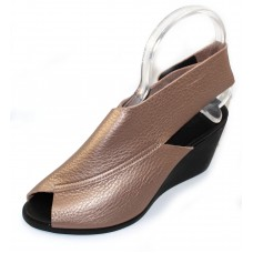 3fbce81c6d3b Arche Women s Egwest In Antico Fast Metal Smooth Calfskin Leather -  Metallic Rose Gold