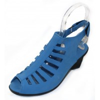 Arche Women's Enexor In Bora Nubuck - Light Denim Blue
