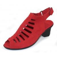 Arche Women's Enexor In Feu Nubuck - Red