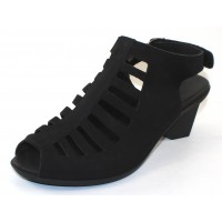 Arche Women's Enexor In Noir Nubuck - Black