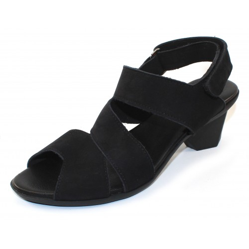 Arche Women's Enorya In Noir Nubuck - Black