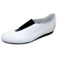Arche Women's Labaze In Blanc/Noir Maha Leather - White/Black