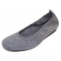 Arche Women's Laius In Grey Oak Textured Suede