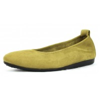 Arche Women's Laius In Kiwi Nubuck - Light Olive/Lime