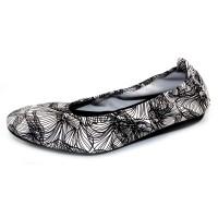 Arche Women's Laius In Noir Liko Agneau Floral Leather