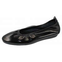 Arche Women's Laius In Noir Lack Patent Leather - Black