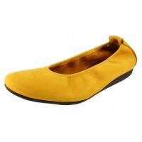Arche Women's Laius In Ocre Nubuck - Mustard Yellow