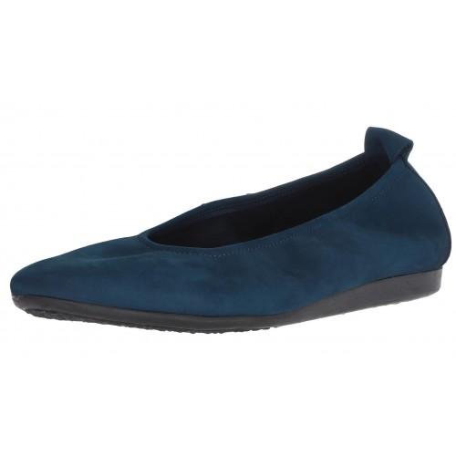 Arche Women's Laius In Olma Nubuck - Dirty Denim Blue