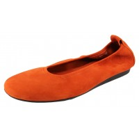 Arche Women's Laius In Tamara Nubuck - Rusty Orange