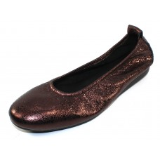 Arche Women's Laius In Vino Souan Metallic Crackle Leather - Wine