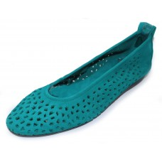 Arche Women's Lilly In Mint Nubuck - Teal