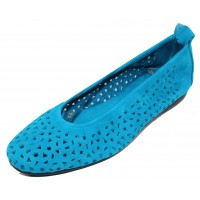 Arche Women's Lilly In Nayati Nubuck - Aqua Blue