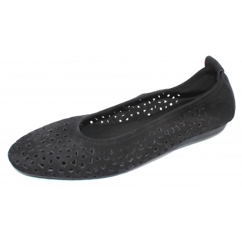 Arche Women's Lilly In Noir Nubuck - Black