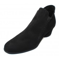 Arche Women's Musc In Noir Nubuck - Black