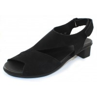 Arche Women's Obibbi In Noir Nubuck - Black