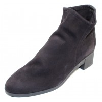Arche Women's Tatyra In Noir Nubuck/Naka Stretch Elastic - Black