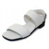 Arche Women's Tinaka In Blanc Rocky Grain Leather - White