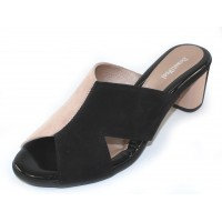 Beautifeel Women's Amore In Blush/Black Suede
