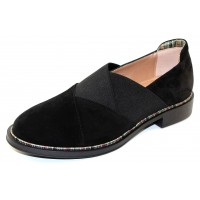 Beautifeel Women's Borni In Black Suede/Elastic