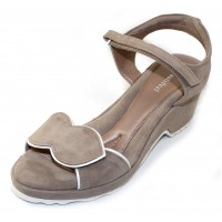 Beautifeel Women's Emma In Tahini/White Suede