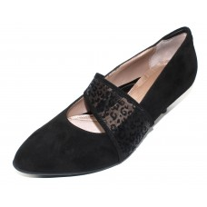 Beautifeel Women's Esmeralda In Black Suede/Leo Mesh