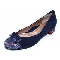 Beautifeel Women's Etta In Navy Suede/Tweed