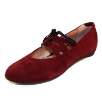Beautifeel Women's Flory In Cabernet Suede