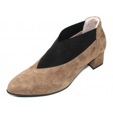 Beautifeel Women's Gia In Cuoio Khaki Taupe Suede